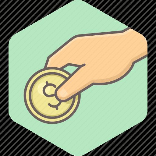 cashback, coin, dollar, guardar, money, payment, save, savings icon