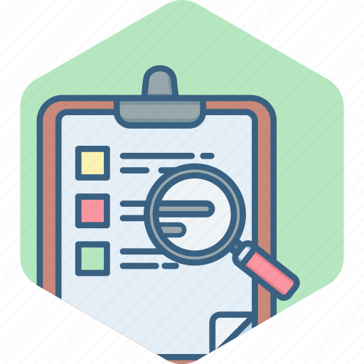 checklist, clipboard, document, list, task, work icon