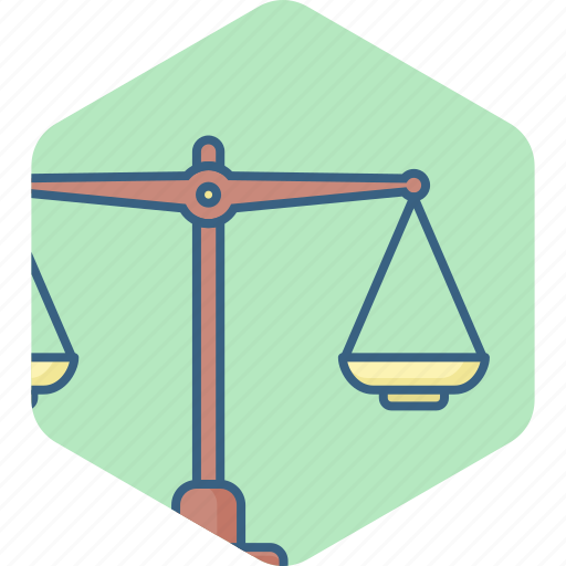balance, justice, measure, scales, tool, weight icon