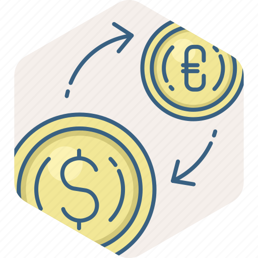 conversion, exchange, forex, money, trade, trading, transfer icon