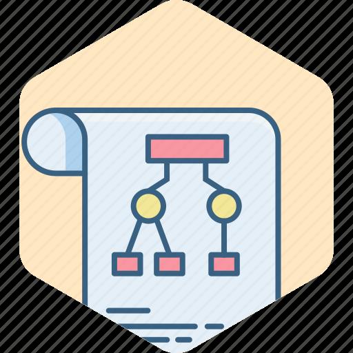 analysis, business, chart, diagram, graph, presentation, sheet icon