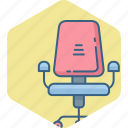 arm, boss, business, chair, office icon