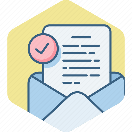 Inbox, letter, mail, document, envelope, text icon - Download on Iconfinder
