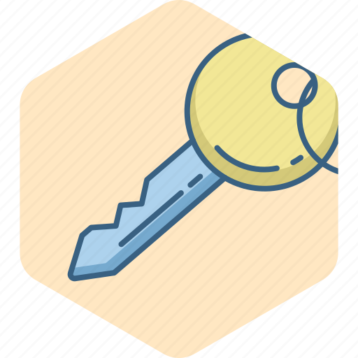 key, lock, password, privacy, protection, safety, security icon