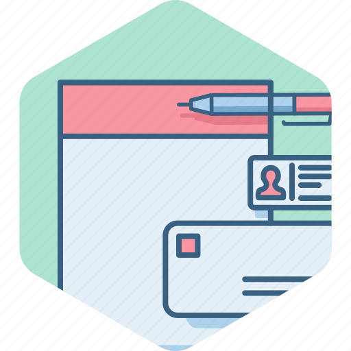 account, business, details, documents, profile, user icon