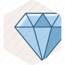 best, diamond, quality, service, work icon