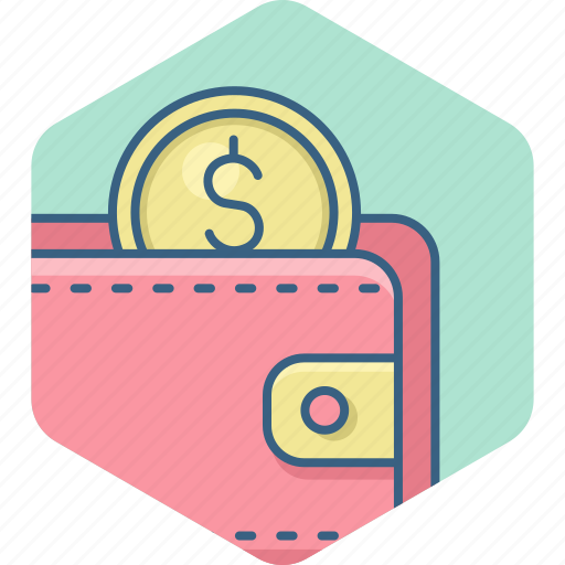 dollar, guardar, money, payment, save, savings, wallet icon