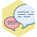 chat, chatting, comment, comments, conversation, feedback, sms icon