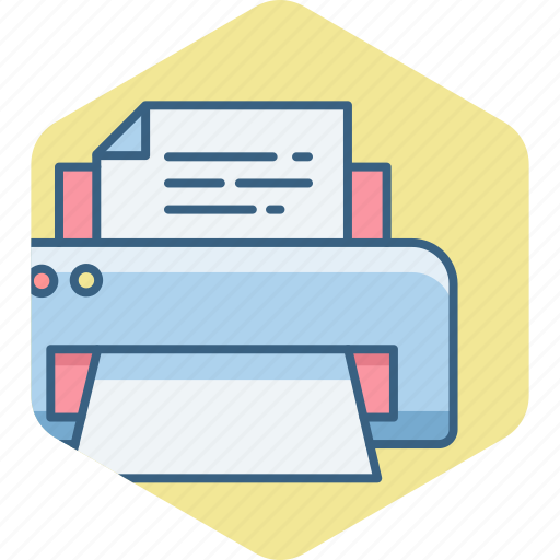 Paper, print, printing, document, printer icon - Download on Iconfinder