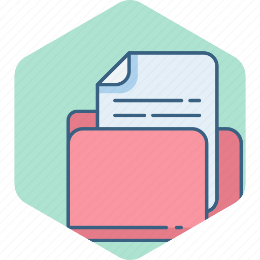archive, document, documents, file, files, folder icon