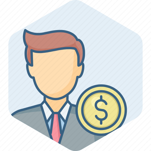 account, accountant, business, finance, manager, person, profile icon