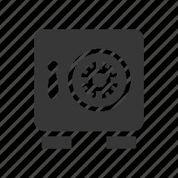 bank box, vault icon