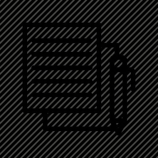 archive, document, edit, file, write icon