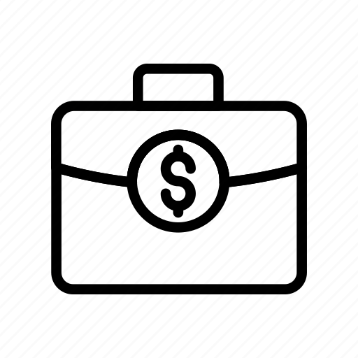 bag, briefcase, cash, money, portfolio icon