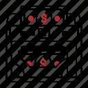 bill, banknote, money, counter, finance, machine