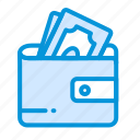 business, finance, investment, money, payment, pocket icon