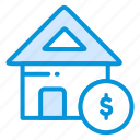 business, finance, home, investment, payment icon