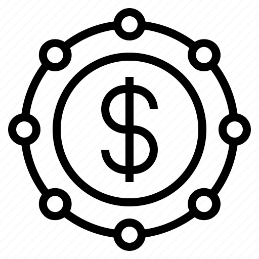 business, business connection, business networking, dollar, dollar sign, networking icon