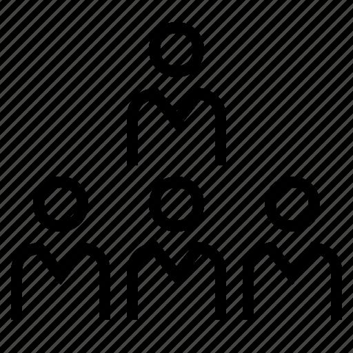business, employee, organization, people, teamwork, worker, workteam icon