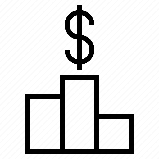 business, business goals, higher profit, more profit, profit, profit goal icon