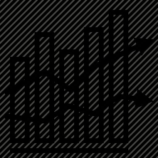 bar graph, business, business graph, finance, finance graph, graph icon