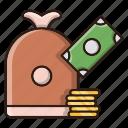 bundle, business, currency, finance, money