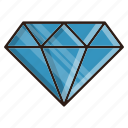 business, diamond, finance, gemstone icon