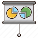 business, finance, graph, report icon