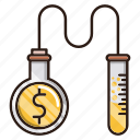 business, finance, generate, making, money, research icon