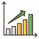 business, chart, finance, report icon