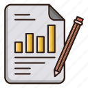 business, chart, file, finance, report icon