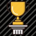 business, finance, prize, trophy, winner icon
