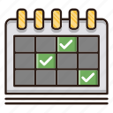 business, calendar, event, finance, planning icon