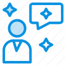 chat, chatting, interface, man icon