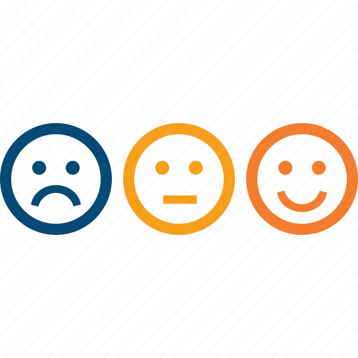 client, criteria, feedback, loyalty, mark, rank, reaction, recommendation, review, satisfaction, satisfied, smiles, survey icon