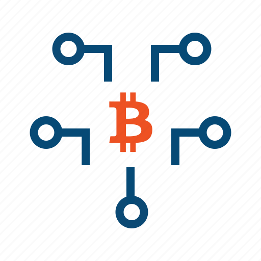 bitcoin, crypto, currency, data mining, features, mining, network icon