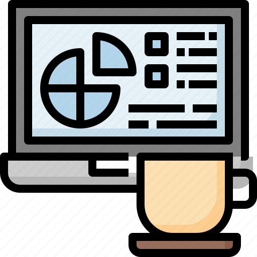 Break, business, coffee, drinks, laptop, relax, tea icon - Download on Iconfinder