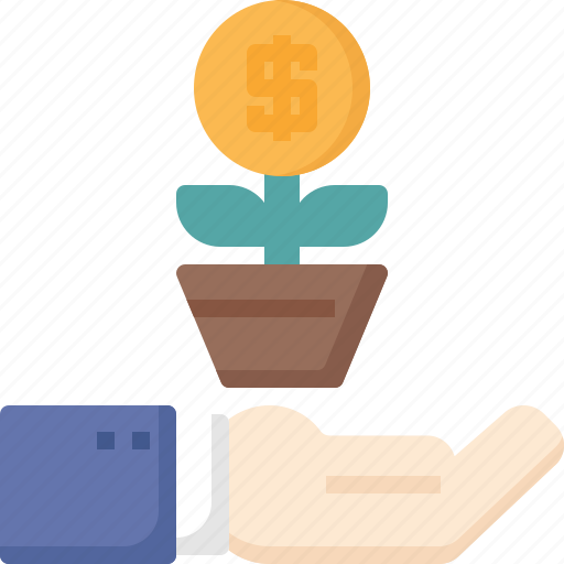 Business, growth, hand, marketing, profit, success icon - Download on Iconfinder