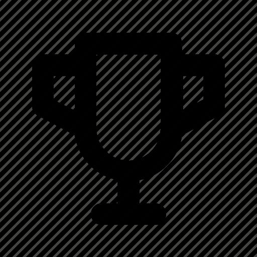 achievement, reward, trophy, win icon