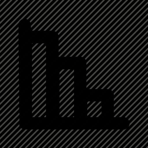 advantage grafic, business, graph, statistics icon