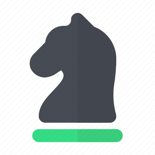 business, chess, horse, horses, strategy icon