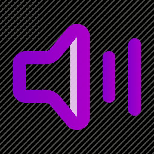 business, marketing, speaker, target icon