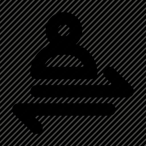 change, exchange, permutation, reshuffle icon