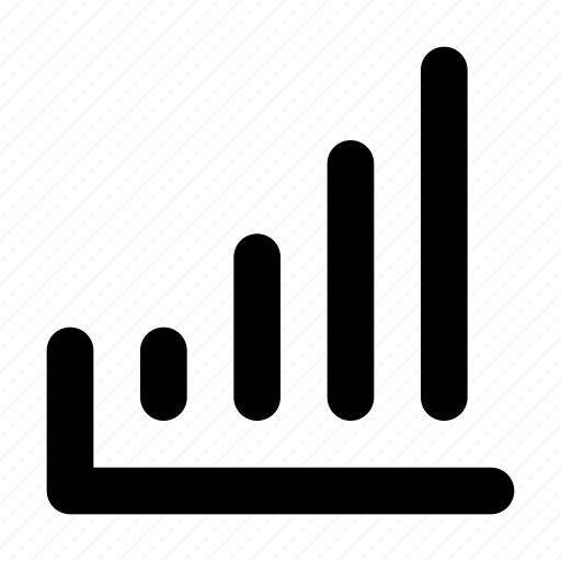 chart, gain, growth, profit, statistic, up icon
