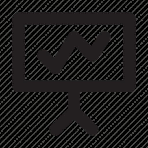 board, diagram, graphic, presentation icon