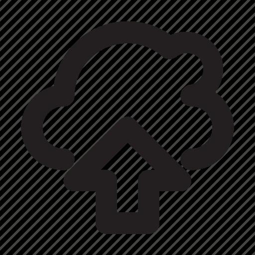Cloud, internet, upload icon - Download on Iconfinder