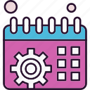 calendar, management, schedule