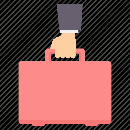bag, briefcase, business, office, portfolio, work icon