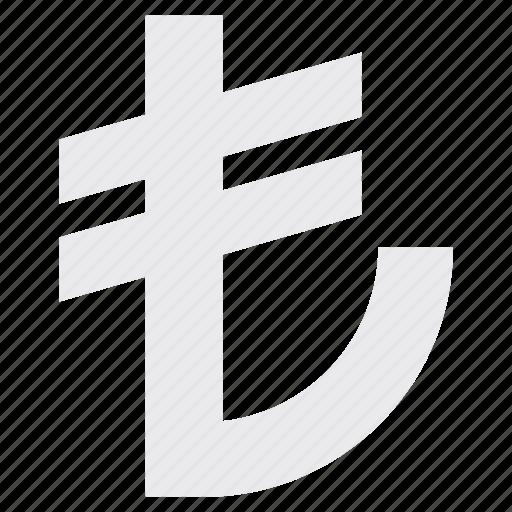 currency, lira, money, turkey, turkish icon