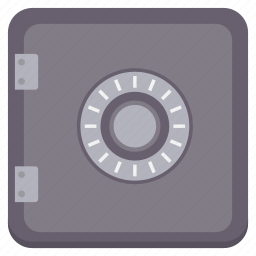 business, locker, money, safe icon